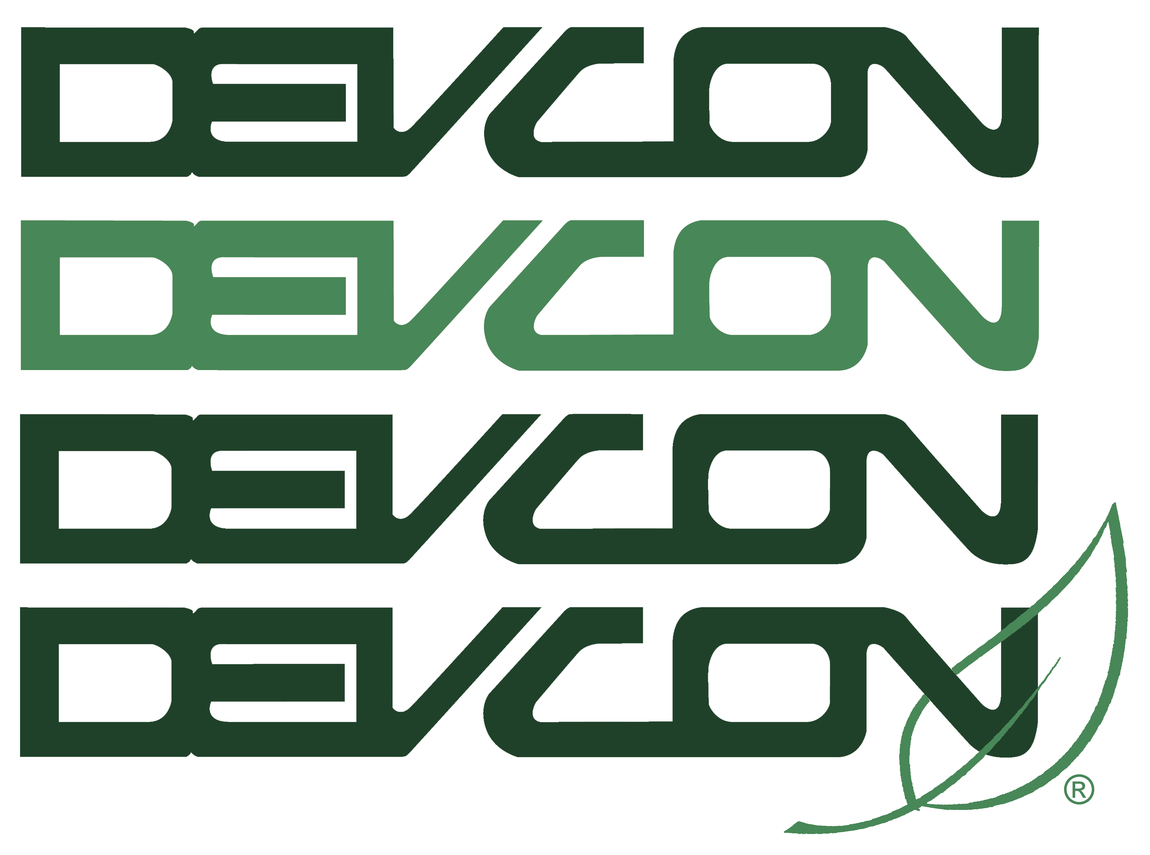 Devcon Green Leaf Logo